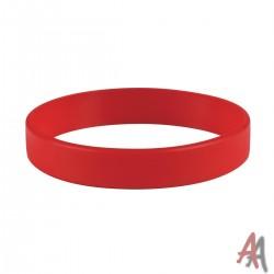 Opaska silikonowa czerwona