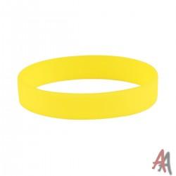 Opaska silikonowa żółta