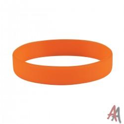 Opaska silikonowa pomarańczowa